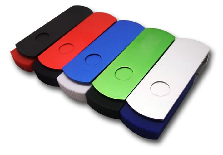铝质外壳,,内为塑料包装U盘芯片,做工精细的礼品U盘.