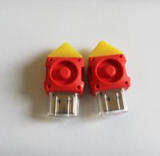 定制PVC开膜u盘——金属芯片外壳